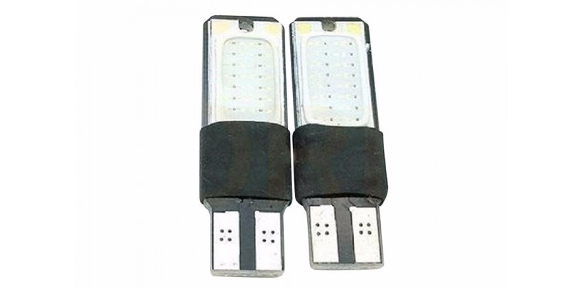T10 Wedge Bohlam Bohlam Depan LED 0