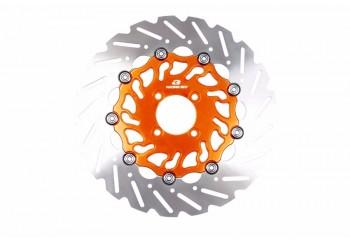 Racing Boy Alloy Series 297 Cakram Depan Oranye