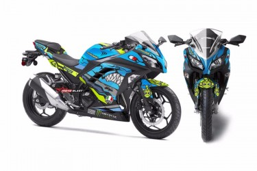 Moto Blast 10559 Custom Decal
