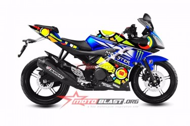 Moto Blast 10820 Custom Decal