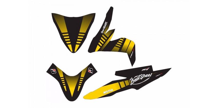 Custom 13157 Stripping Kuning 0