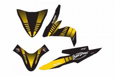 Custom 13157 Stripping Kuning