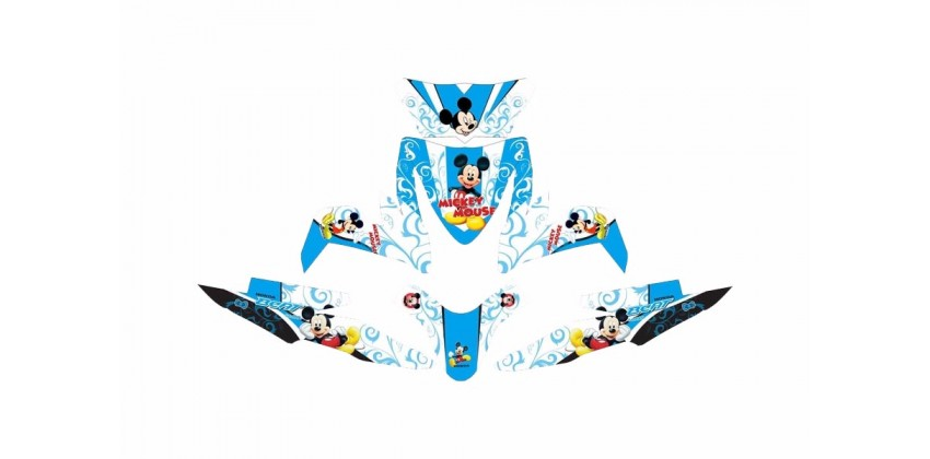 Custom 13172 Micky Mouse Stripping Motif MICKEY MOUSE 0