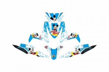 Custom 13172 Micky Mouse Stripping Motif MICKEY MOUSE