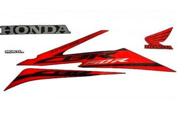 Honda Genuine Parts 871X0-K45-N70ZAL Stripping Original Merah