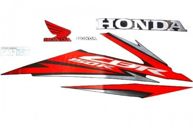 Honda Genuine Parts 871X0-K45-NH0ZAR Stiker Body Kanan