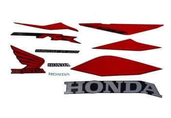 Honda Genuine Parts 871X0-K64-N20ZAR Stripping Original Merah