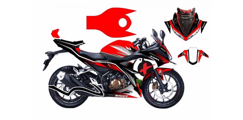 Decal & Stripping Custom Decal Jorge Lorenzo Livery 0