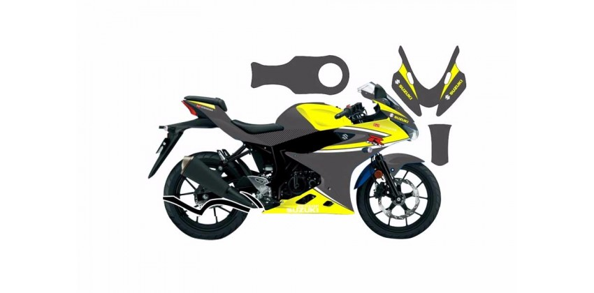 Decal & Stripping Custom Decal Tricolor GYW 0