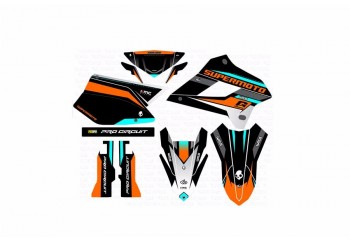 Maxpro KG-04 Pro Circuit Custom Decal
