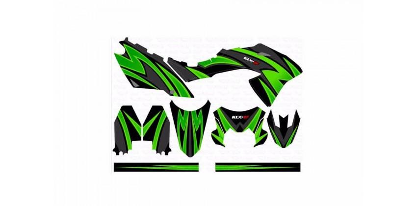 Decal & Stripping Custom Decal Green 0