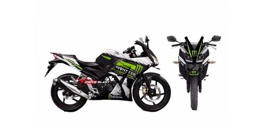 Monster Decal & Stripping Custom Decal 0