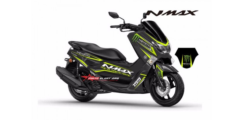 Monster Energy Decal & Stripping Custom Decal 0
