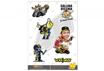 Yamaha Genuine Parts VR46 01 Stripping Custom Motif