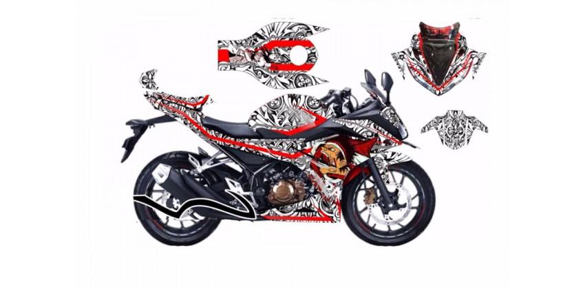 Decal & Stripping Custom Decal Facelift Batik 0