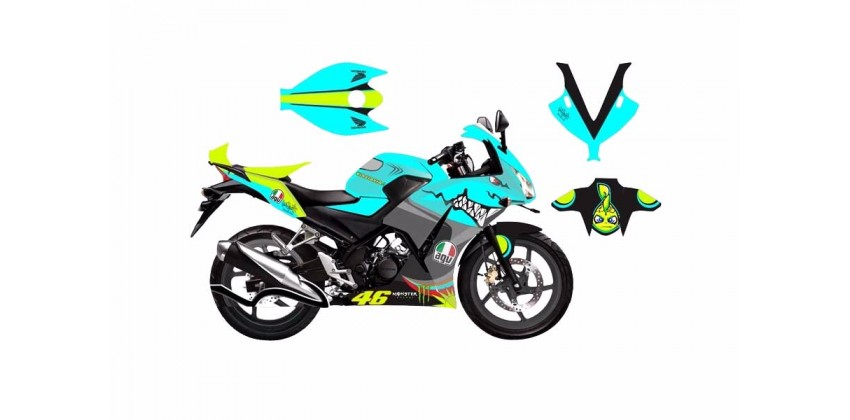 Decal & Stripping Custom Decal Shark VR 2 0