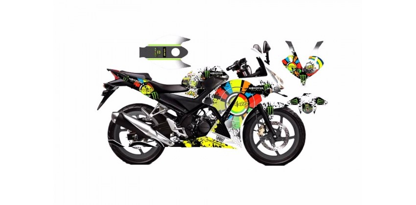 Decal & Stripping Custom Decal VR 46 Splash 0