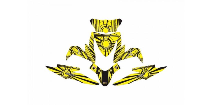 Decal & Stripping Custom Decal Sunmoon Yellow 0