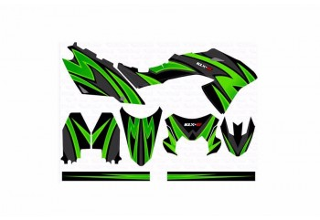 Decal & Stripping Custom Decal Green