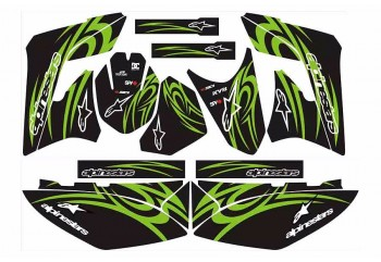 Decal & Stripping Custom Decal Alpinestar