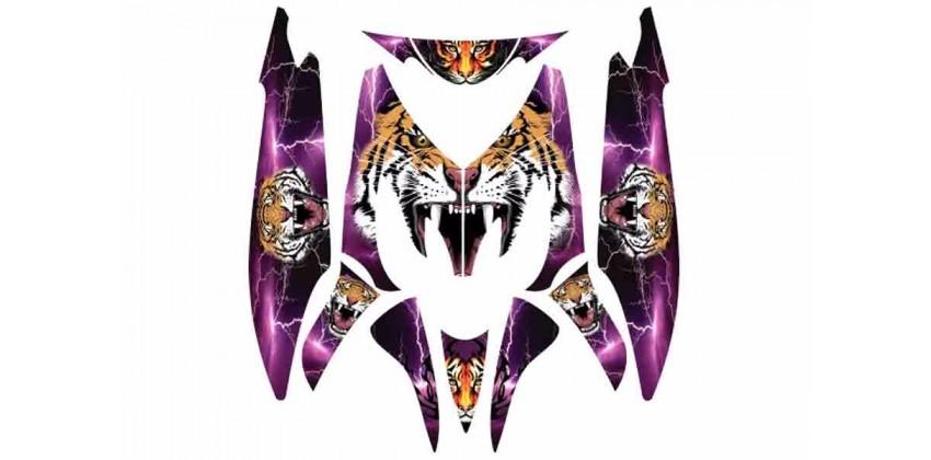 Decal & Stripping Custom Decal Harimau 0