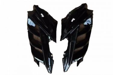 Yamaha Genuine Parts 12984 Fairing Samping Hitam