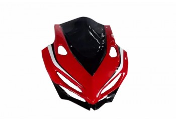 Cover Headlamp Fairing  Fiber