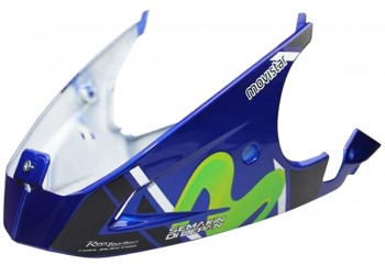 MTA-30305 Movistar Blue Fairing Bawah (Under Cowl) Yamaha Jupiter MX King