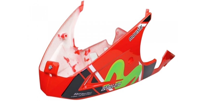 MTA-303705 Movistar Red Fairing Bawah (Under Cowl) 0