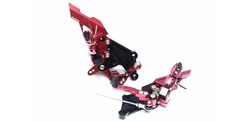 Bikers 2412 Footstep Underbone Merah 0