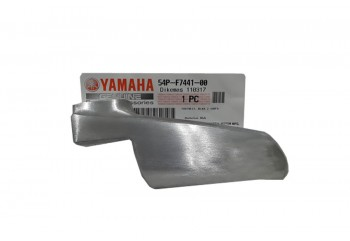 Yamaha Genuine Parts 54P-F7441-00 Footstep Belakang Silver