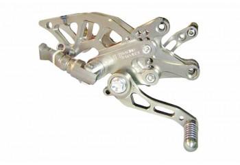 NUI Monster 1404 Footstep Underbone Silver