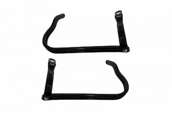 Yamaha Genuine Parts 1248 Handle Guard Hitam Set (Kiri/Kanan)