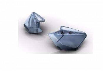 Yamaha Genuine Part & Accessories 2DPF85F00000 Handle Guard Abu-abu
