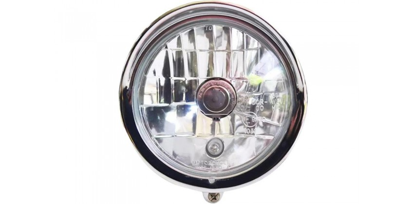 LAD7002 Headlamp & Stoplamp Lampu Tembak Chrome 0
