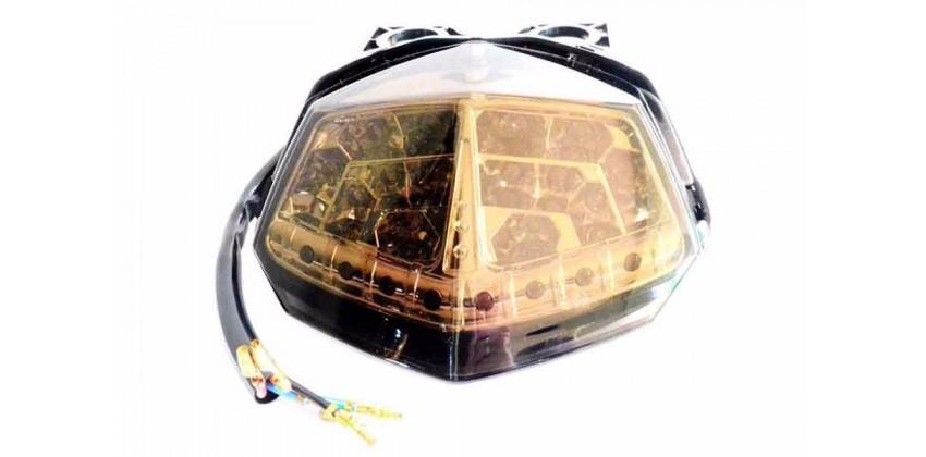 LAS4006 Headlamp & Stoplamp Stoplamp Mika Smoke 0