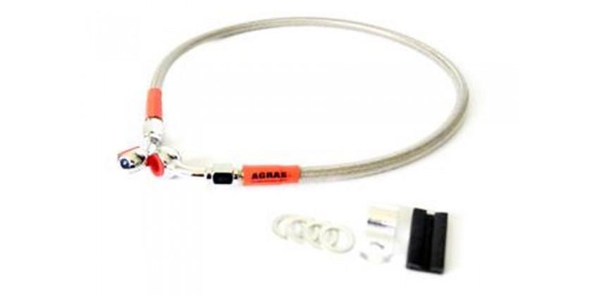 Disc Brake Mesh Drive 60cm Kabel & Selang Selang Rem Depan Cream 0