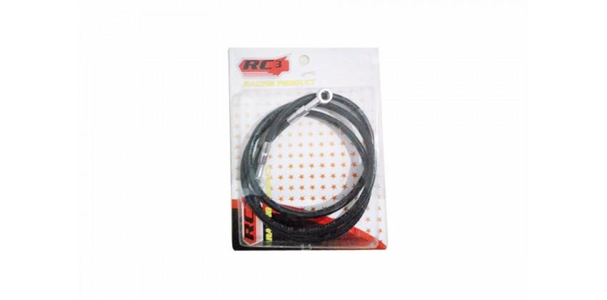 Kabel & Selang Selang Rem Depan Hitam Ukuran 75 cm 0