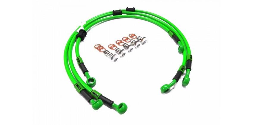 Kabel & Selang Selang Rem Depan Hijau ABS 0
