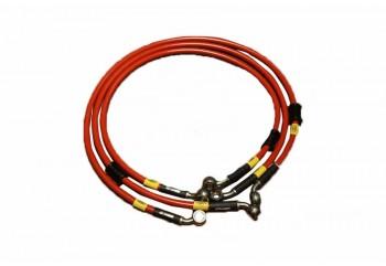 Kabel & Selang Selang Rem Depan Merah