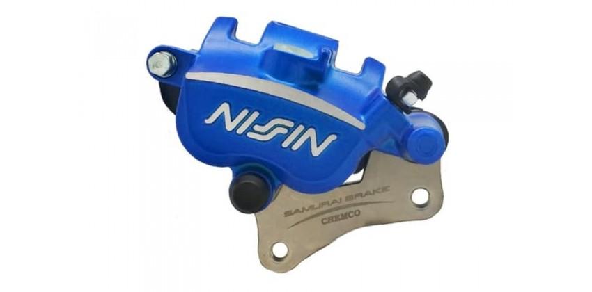 Kaliper Nissin Original Rem Depan Motor Suzuki Satria F 150 STD Caliper Biru Suzuki Satria F150 All New 0