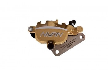 Kaliper Nissin Original Rem Depan Motor Yamaha MX King 245 STD - Gold Caliper Gold Yamaha Jupiter MX King