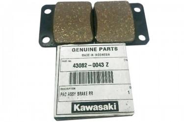 Kawasaki Genuine Part 43082-0043 Kampas Rem Cakram Belakang