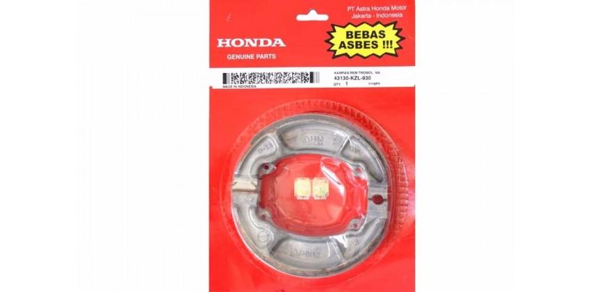 Honda Genuine Parts Kampas Rem Kampas Rem Tromol Belakang 0