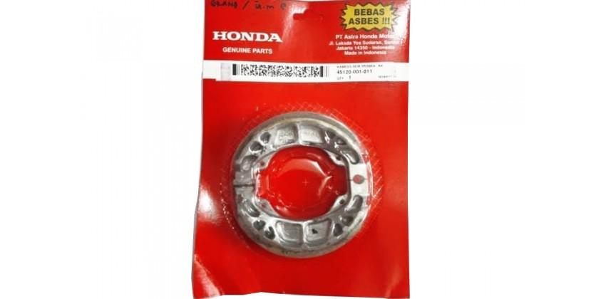 45120-001-011 Kampas Rem Tromol Belakang Honda Grand, Honda Legenda, Honda Supra X, Honda Supra Fit 0
