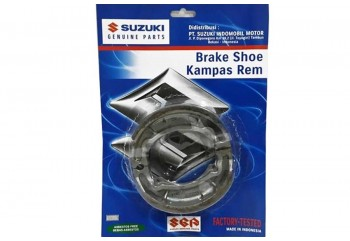 Suzuki Genuine Part 54410-35450L000 Kampas Rem Tromol Belakang