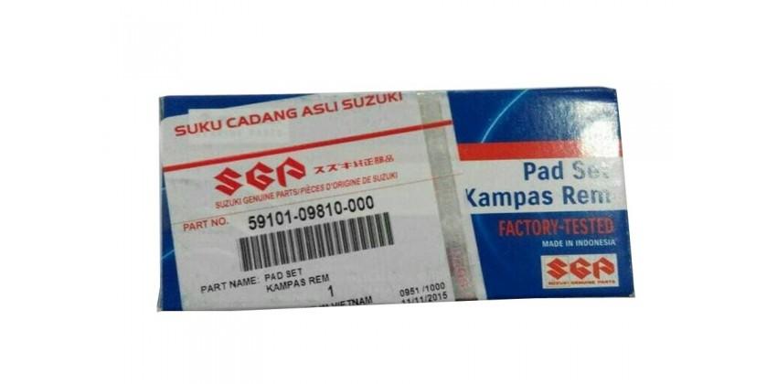 59101-09810-000 Kampas Rem Cakram Depan Suzuki Nex 0