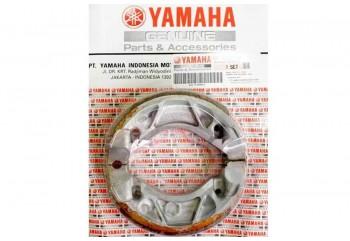 Yamaha Genuine Parts 5BP-F530K-20 Kampas Rem Tromol Belakang