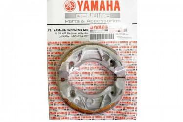 Yamaha Genuine Parts 5TP-F530K01-00 Kampas Rem Tromol Belakang