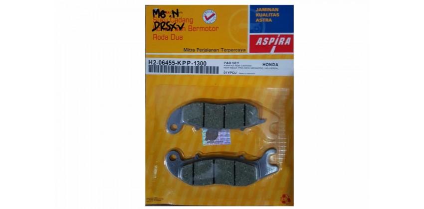 Aspira H2-06455-KPP-1300 Kampas Rem Cakram Depan 0
